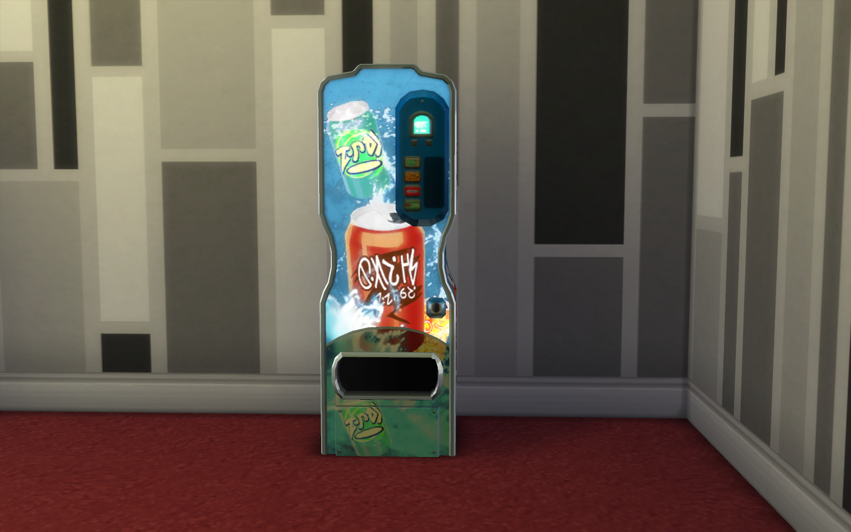 Mod The Sims - Vending Machines! (Updated for Strangerville)