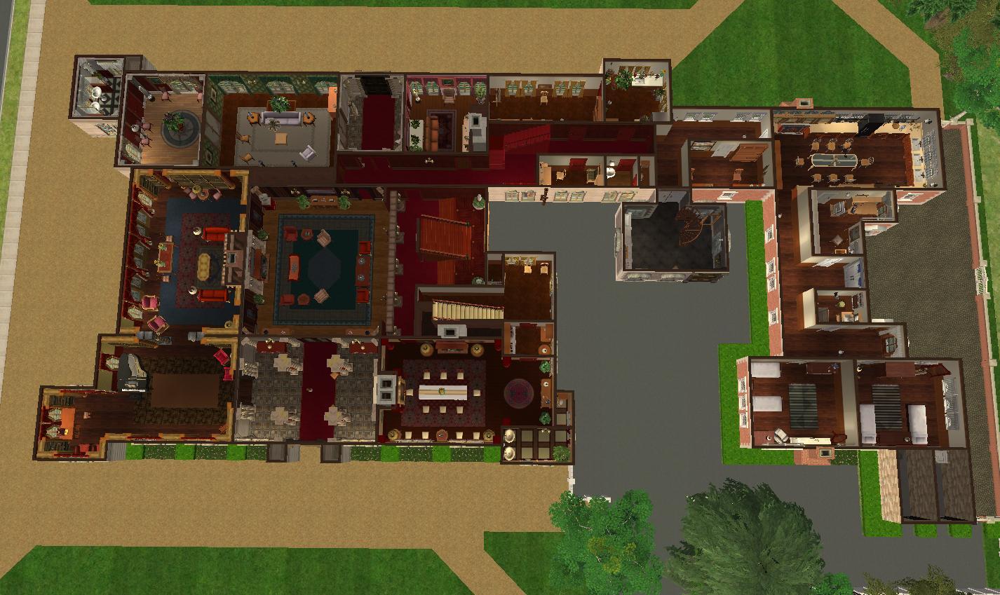 Highclere Castle Floor Plan Gurus Floor