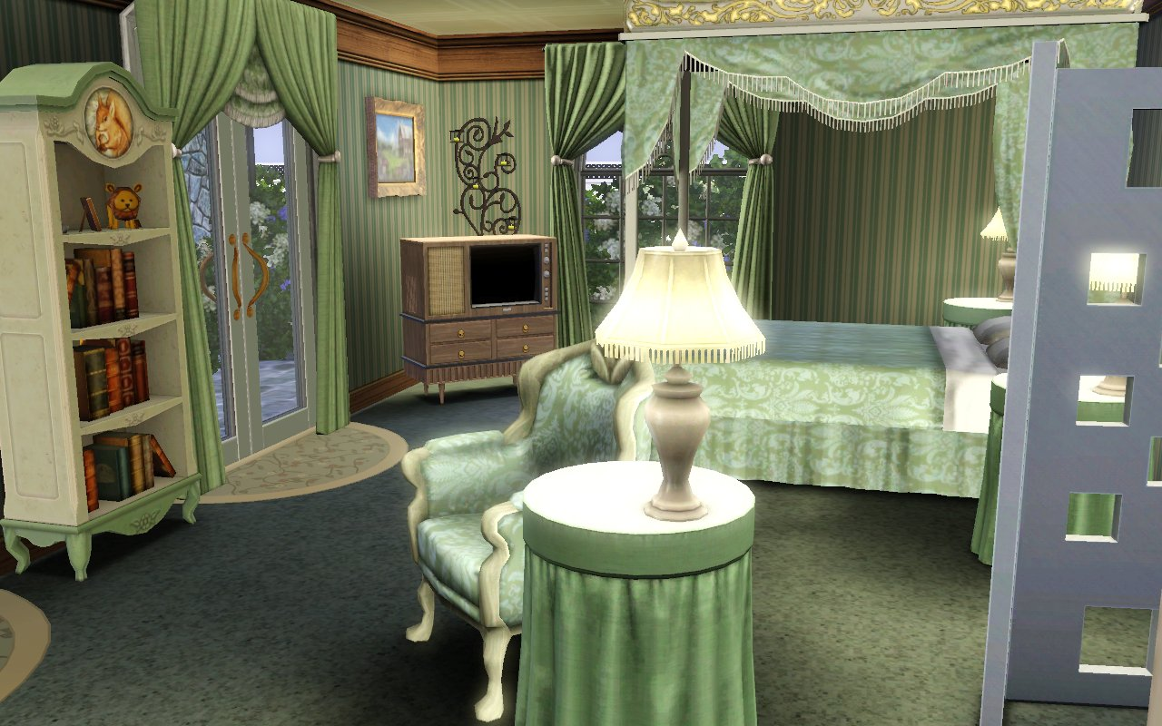 sims 3 master bedroom mod the sims courtyard in blue 17072