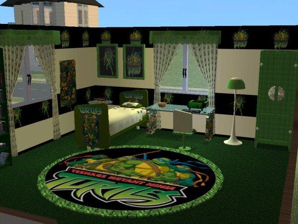 Teenage Mutant Ninja Turtles Bedroom Ideas Turtle  U003e Source. Advertit