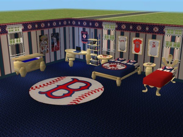 Mod The Sims Boston Red Sox Bedroom