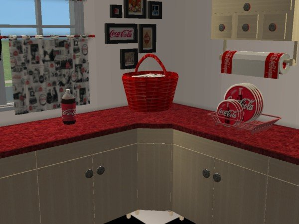 Mod The Sims Coca Cola Kitchen Maylin Country Kitchen Recolor