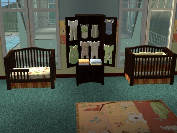 Mod The Sims - Down Under Nursery Growup Set