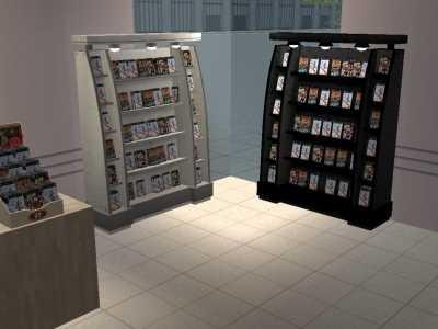 Mod The Sims Game Rack Recolours Black White