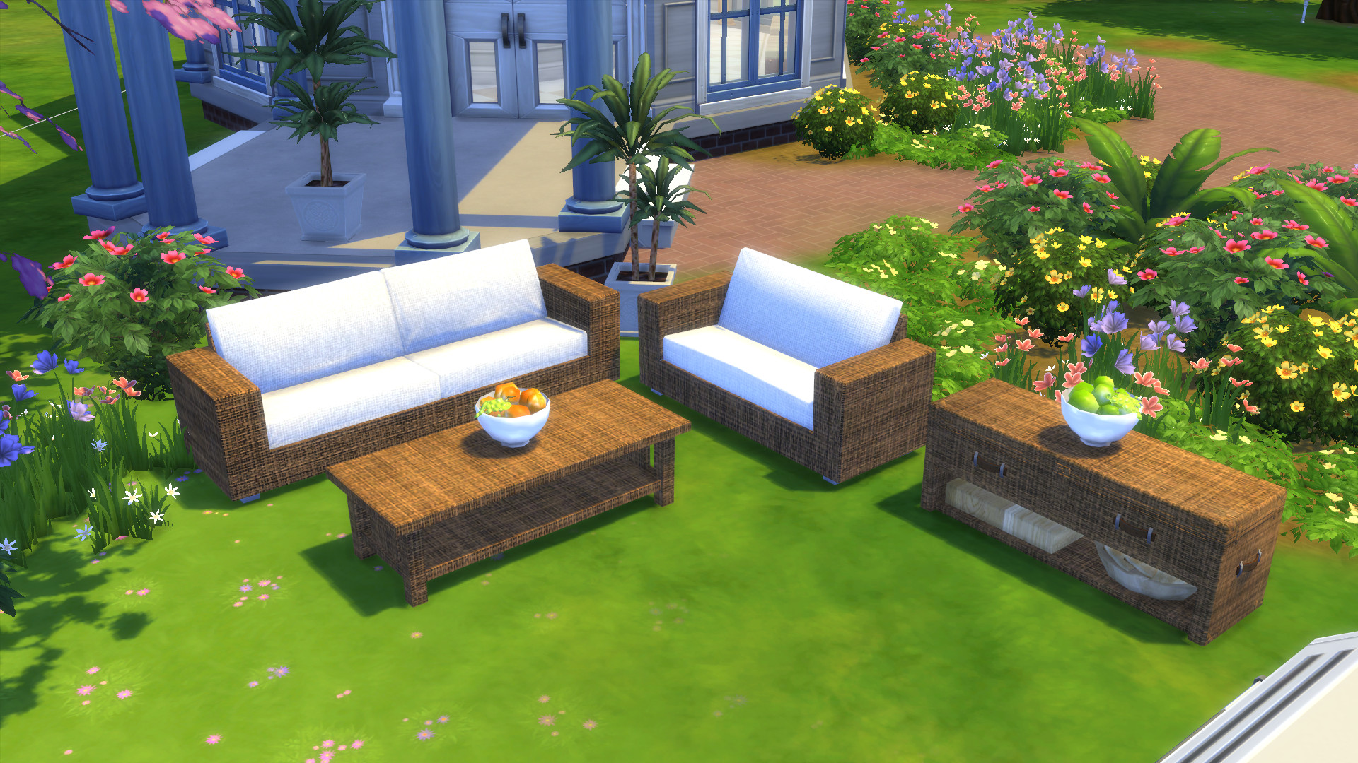 Mod The Sims - Garden Furnitures - Set
