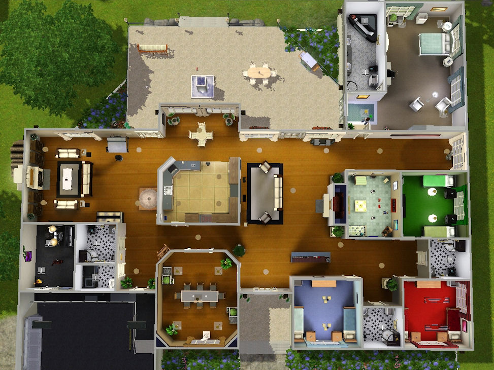 Sims 3 6 Bedroom House Sims 3 5 Bedroom House Plans Glif Org