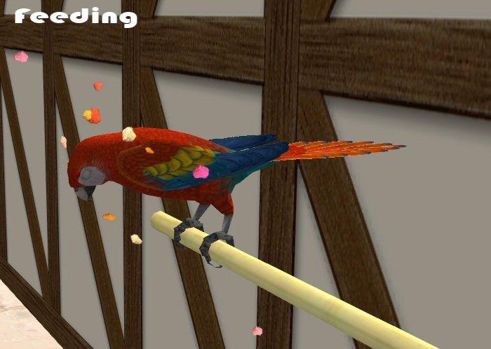 Mod The Sims Flight of freedom bird cage