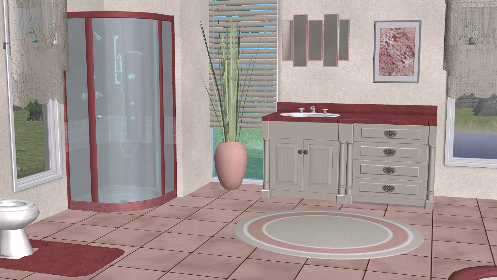 ModTheSims - Pink Sugar Bathroom