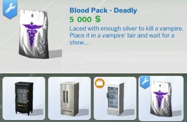 Drink Blood Not Plasma Sims