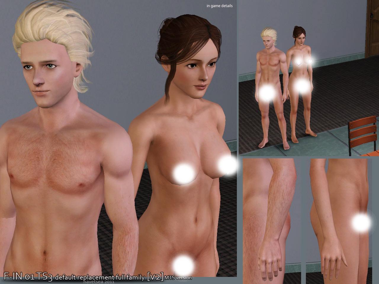 Naked Male Sim