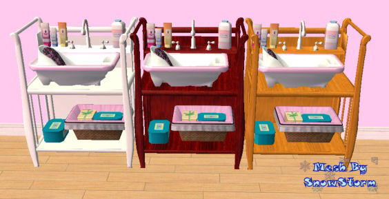 baby items by snowstorm the sims creations mod the sims testers wanted sleigh style baby bath 55932