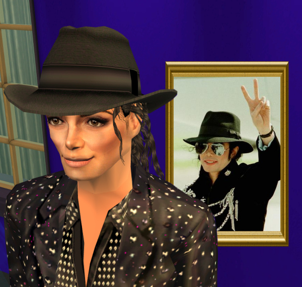 michael jackson hair style mod the sims michael jackson quot smooth criminal quot style 7510