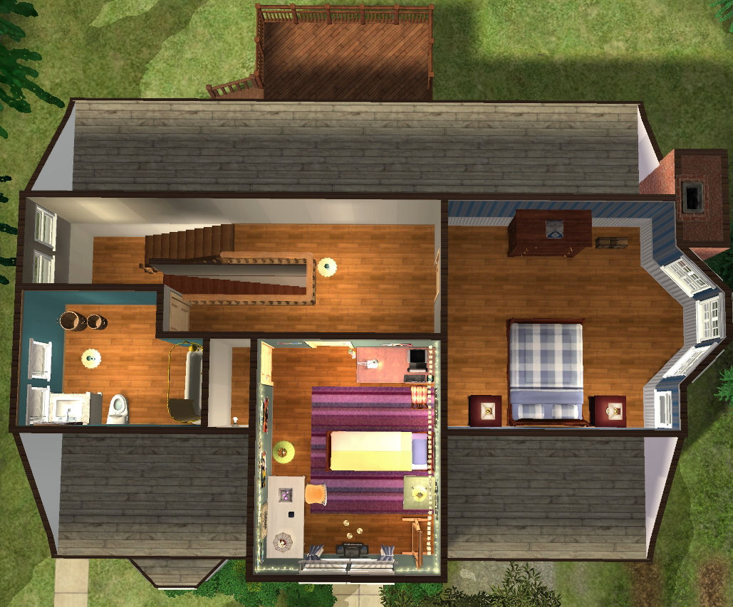 Mod The Sims Twilight Bella Swan S House Base Game
