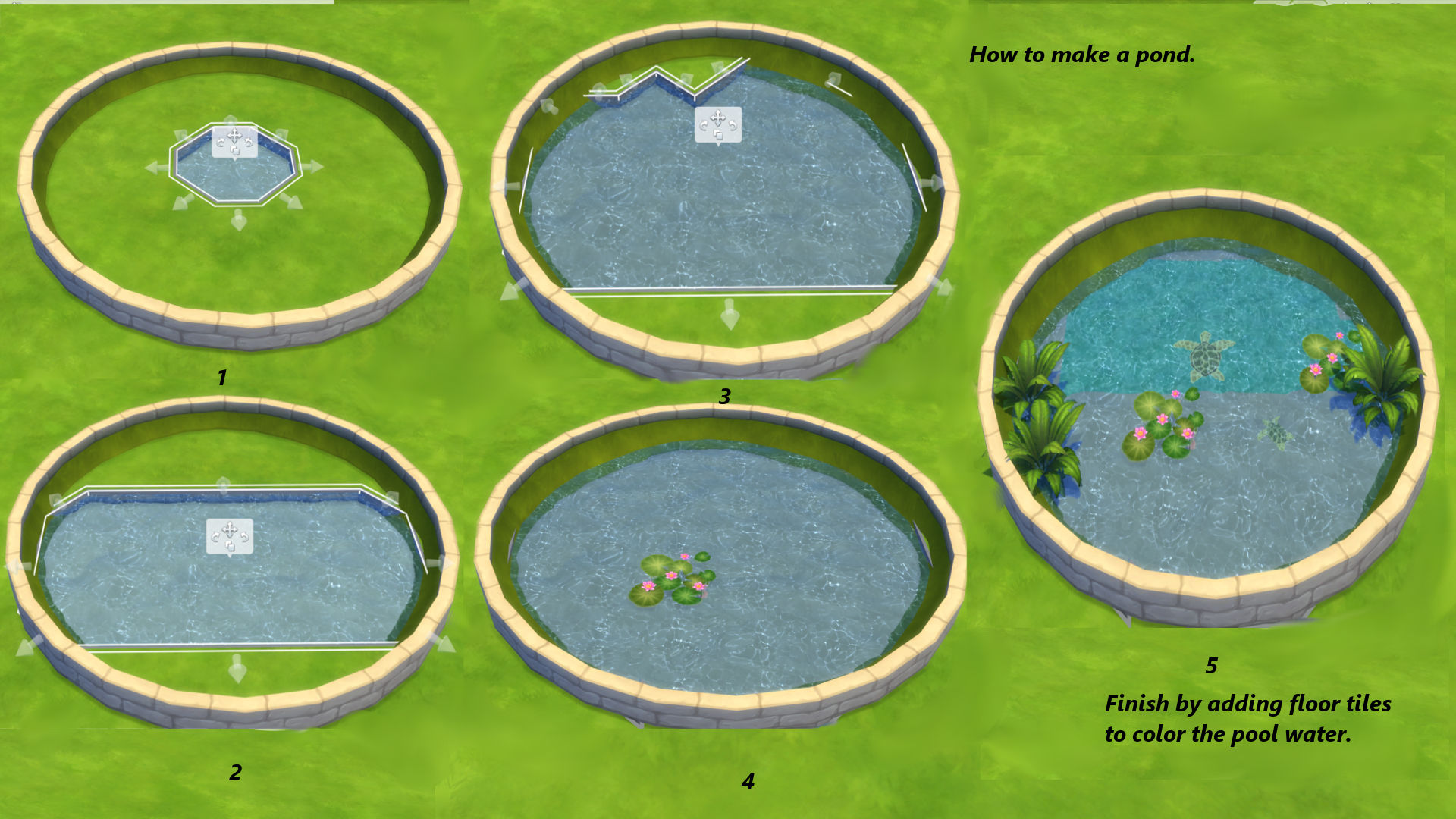 Mod The Sims On The Curve Circular And Oval Flowerbeds