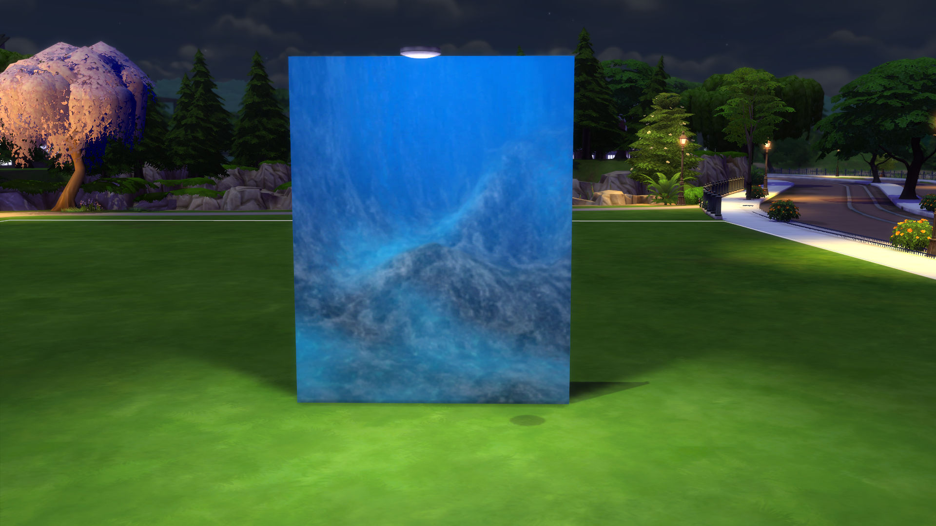 Paint Wall Mural Mod The Sims Under The Sea Part Ii Underwater Walls