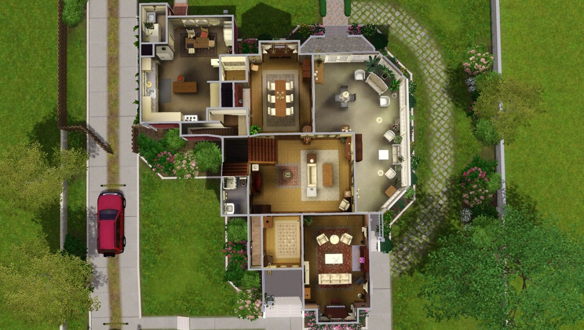 Mod The Sims Halliwell Manor Charmed No Cc Store