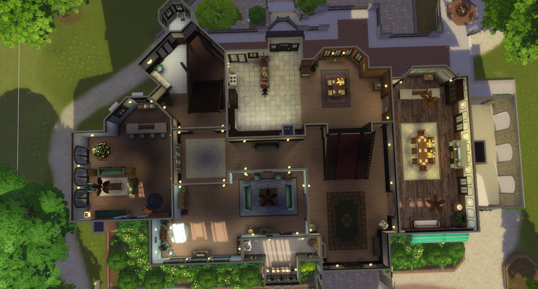 Mod The Sims Hill House Bisham Manor Haunting Of Hill House No Cc