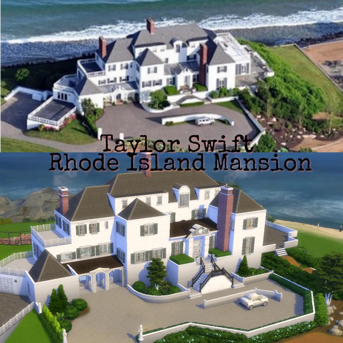 Mod The Sims Rhode Island Mansion Taylor Swift No Cc
