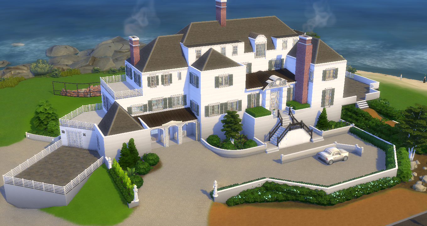 Mod The Sims Rhode Island Mansion Taylor Swift No Cc