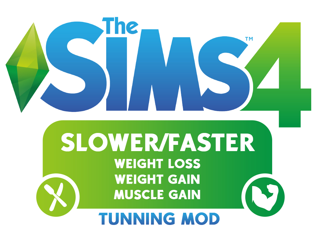 do sims 4 lose weight