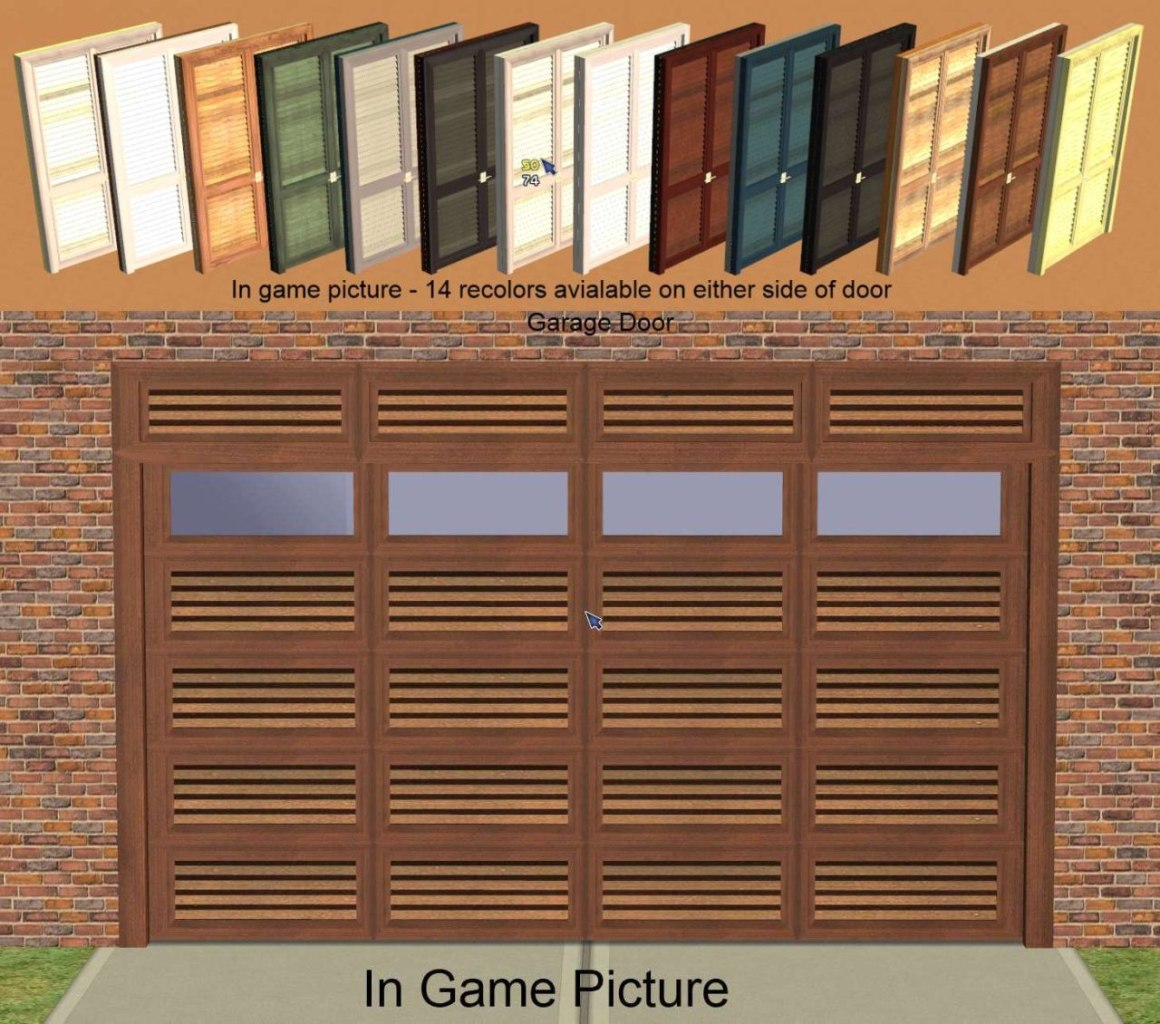 Mod The Sims Pinegultcher Windows And Doors