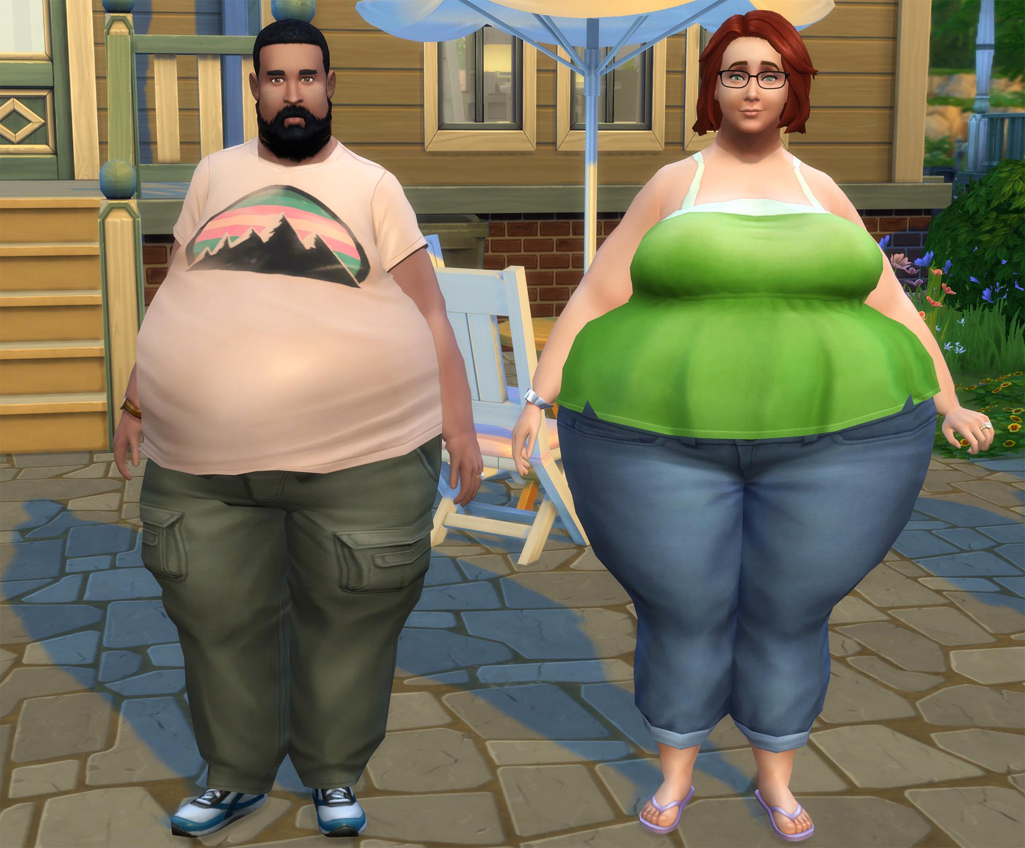 Pierderea în greutate în sims 4; Viață confortabilă
