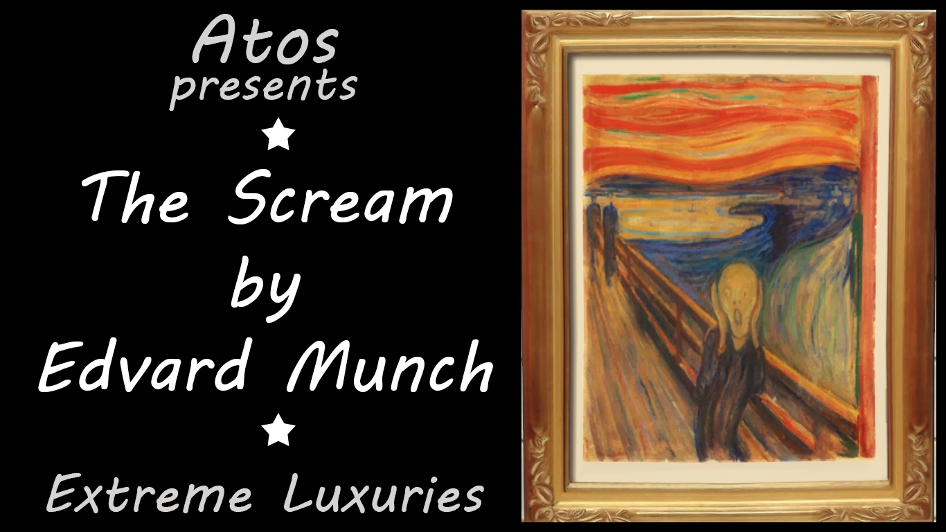 Mod The Sims The Scream By Edvard Munch Extreme Luxuries