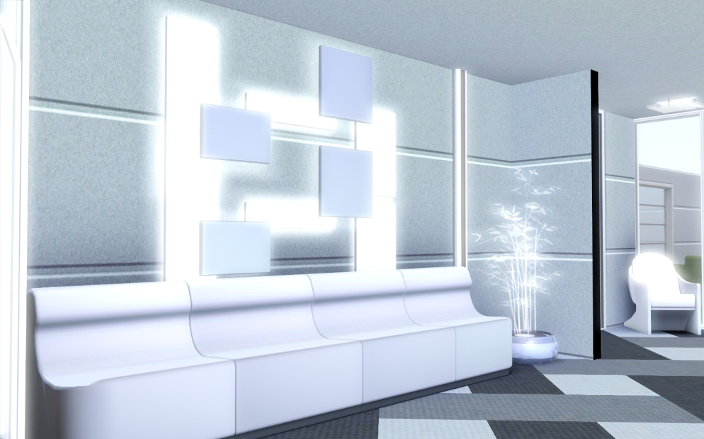 futuristic living rooms mod the sims quot just another future house quot 11654