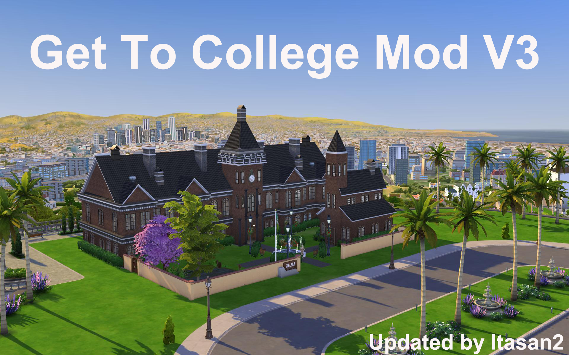 Mod The Sims Get To College Mod V3