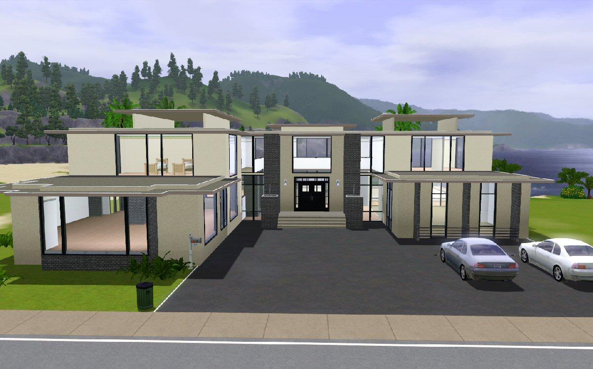 Sims 3 Maison Moderne
