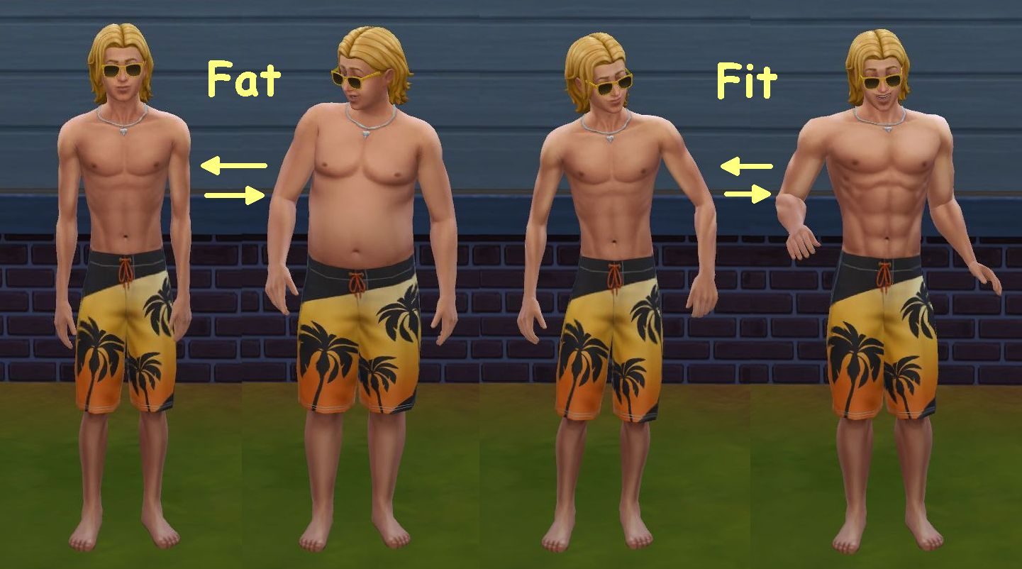 Get fat sims 4