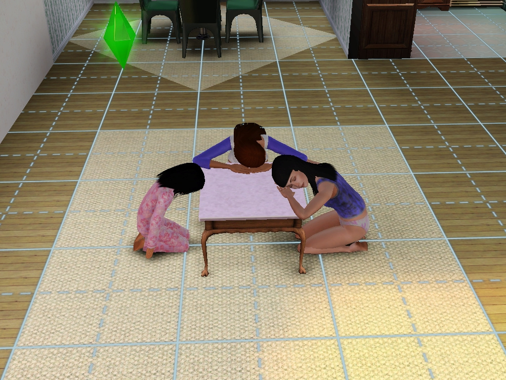 Mod The Sims Anese Low Dinner Table