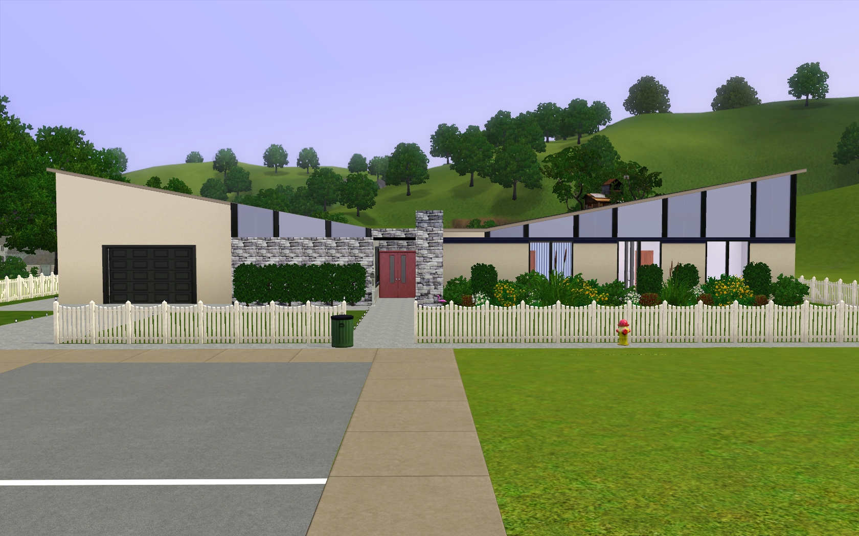 Mod The Sims The Incredibles Inspired House
