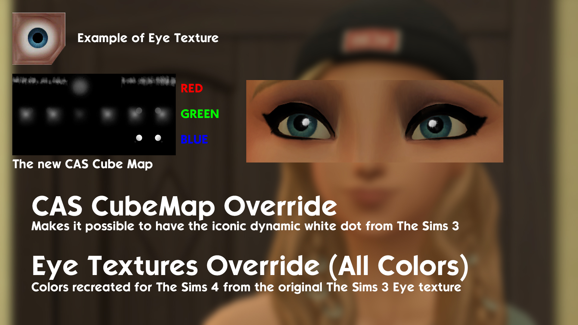 Mod The Sims Ts3 To Ts4 Eye Textures June 2020 Update