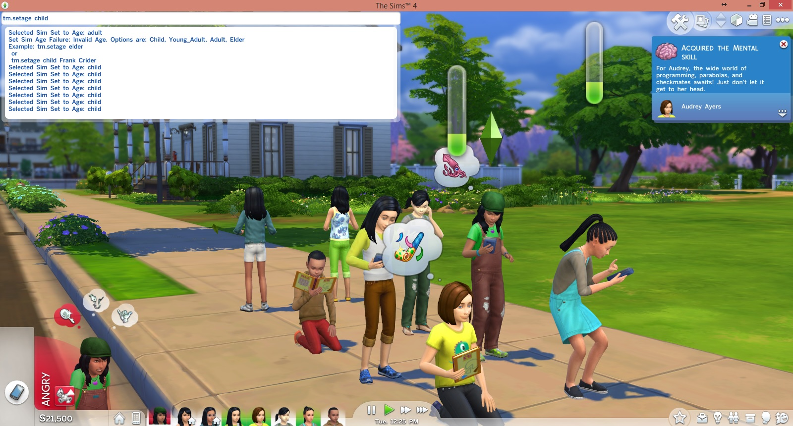 Mod The Sims - Set Age Cheat - Set Sims and Neighbors to Any Age ...