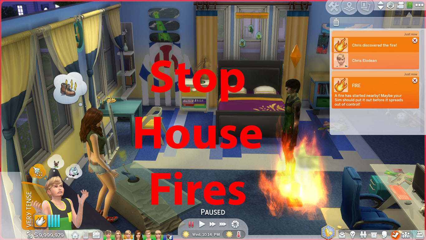 ModTheSims - No More House Fires