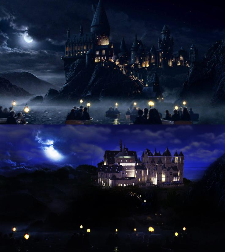 ปราสาท Hogwarts The Sims 4