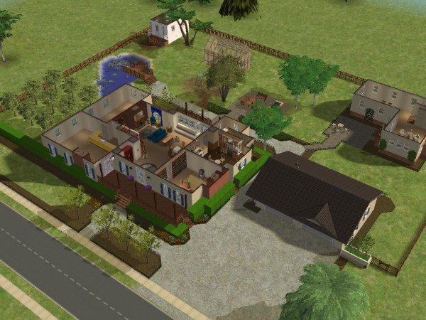 Mod The Sims I Love Lucy Connecticut House