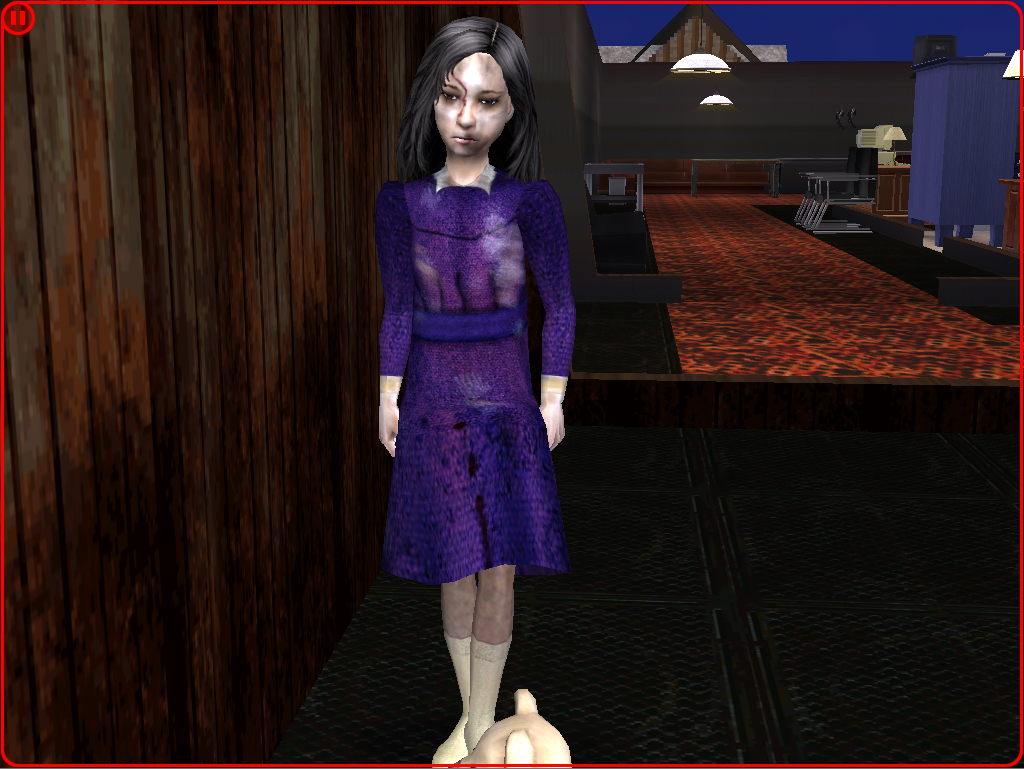 Mod The Sims Silent Hill Dark Alessa Movie Version