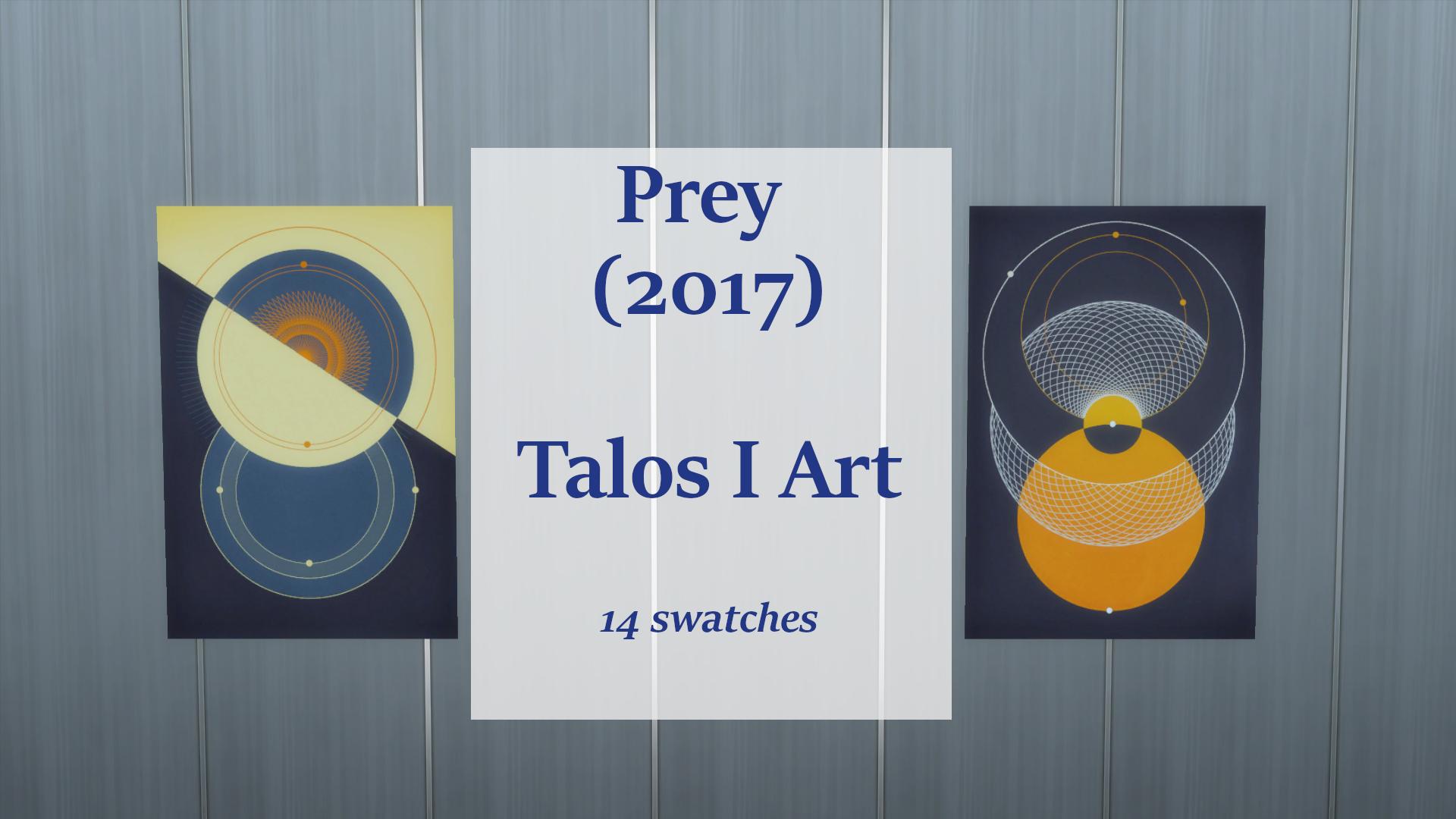 ModTheSims - Prey - Talos I Artwork